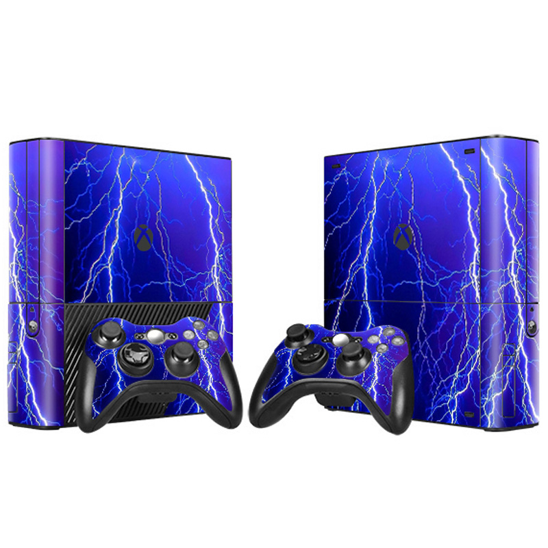 Newest skin stickers For XBOX 360 E Console Game Sticker Cover Vinyl Decals and Controllers Skins