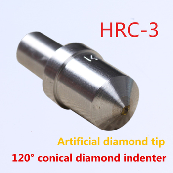 3pcs/lot rock well artificial diamond tip hardness indenter/penetrator HRC-3 for rock well tester