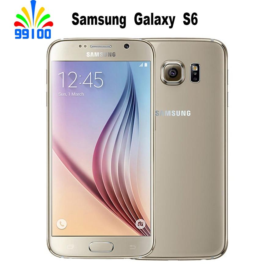 """Samsung Galaxy S6 G920A/F/P S6 Edge G925F/P 5.1""""Mobile Phone Octa Core 3GB RAM 32GB ROM LTE 16MP"""