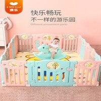6 месяцев или более ребенка забор дома дети Ползания коврики Детская безопасность забор Детские игрушечный забор