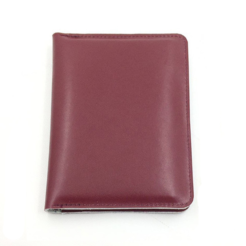 Luxury Black Business Men Passport Cover Cow Leather Bags Multifunctional Brand Travel Passport Cover Wallet Pouch Passport