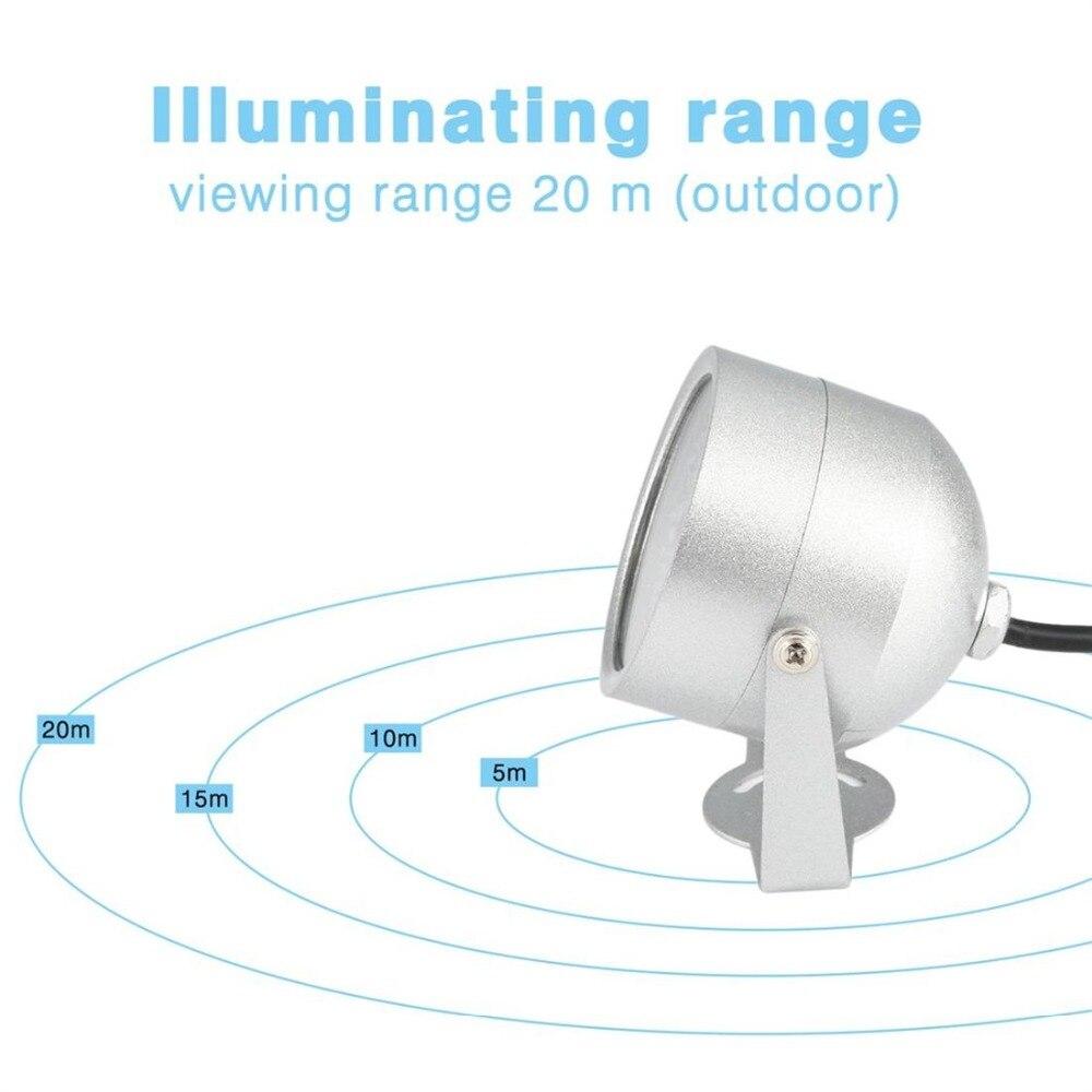 48 LED illuminator Light Infrared IR Led lamp 850nm Wavelength IR illuminator night vision Lighting for CCTV Camera Fill Light 3
