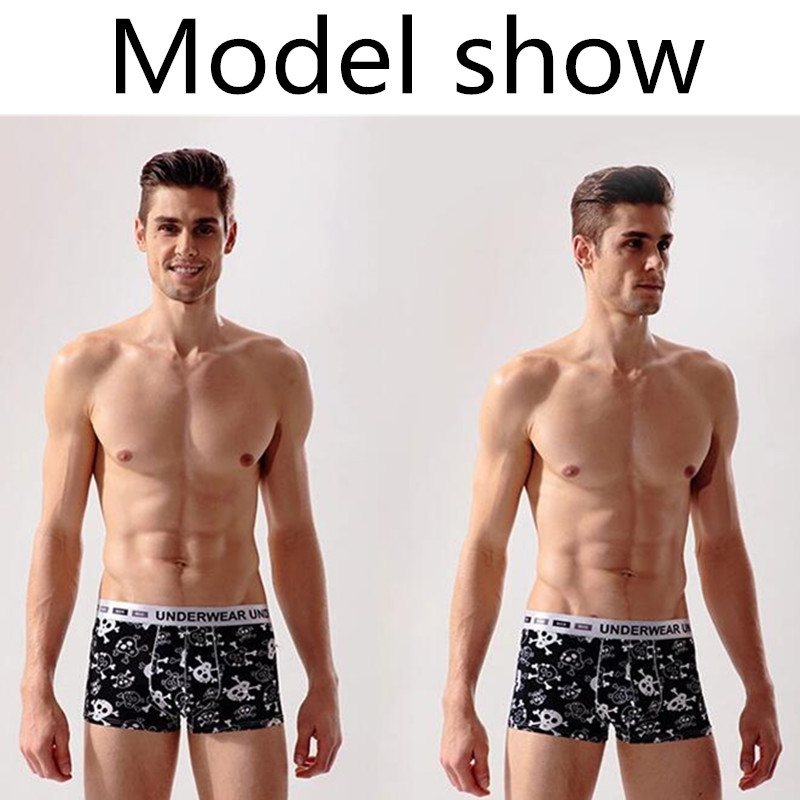 Fashion Underwear Men Boxers Underpants Sexy Print ManS Pants For Men Boxer Shorts