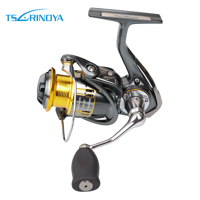 Tsurinoya UL Spining Fishing Reel Lightweight Carp Fishing Gear Spinning Reel 9+1 Ball Bearing  carp fishing FS1000 speed