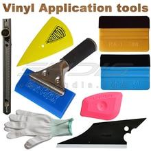 8 В 1 Виниловых Tool Kit Включает Bluemax Резиновые Ручки ракель/Карты Почувствовал, Ракеля/Перчатки/Искусство Нож резак
