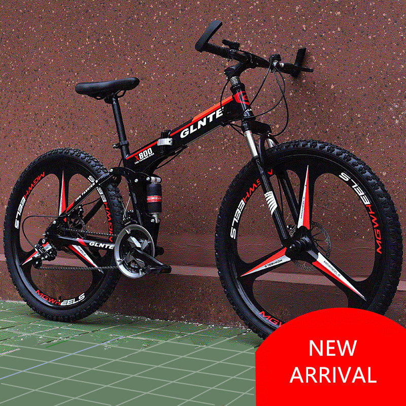 New Brand Mountain font b Bicycle b font Carbon Steel Frame 21 24 27 font b