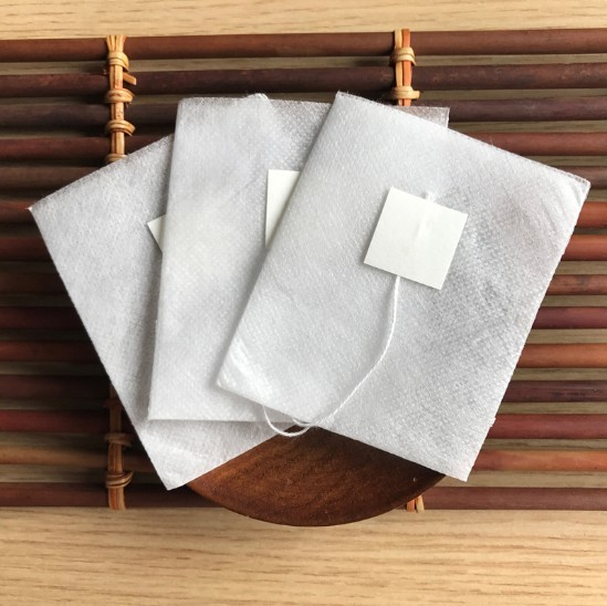 100pcs Lot Pyramid Empty Tea Bags Filters String With Tag Coffee Cup Filter