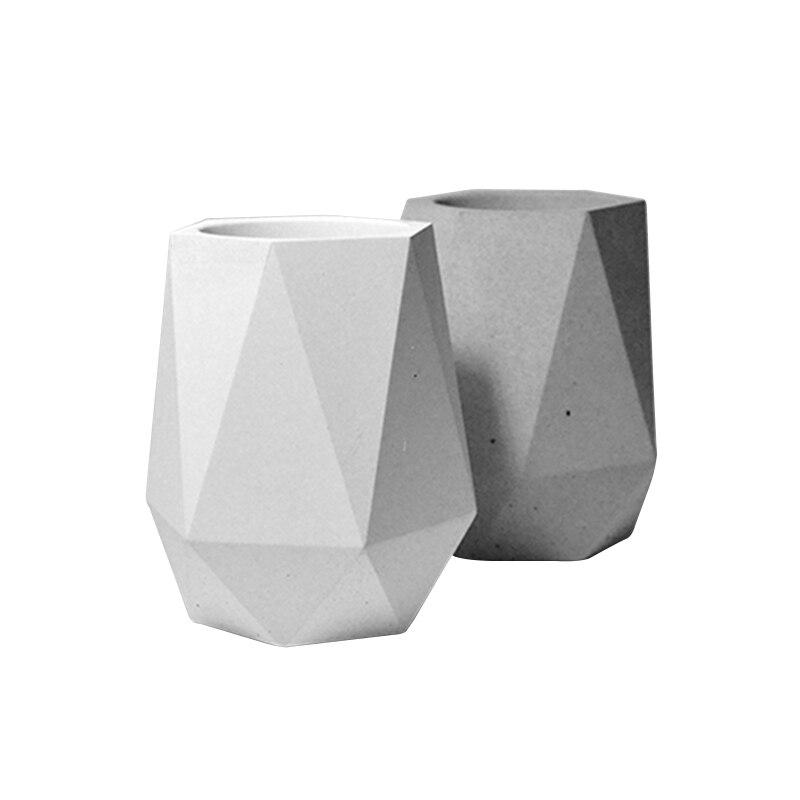 Nicole Siliconen Mal voor Cement Vaas Handgemaakte Craft Beton Bloempot Schimmel-in Kleimallen van Huis & Tuin op  Groep 1