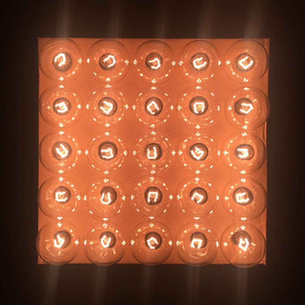 Luces de cadena de VNL G40 con 25 bulbos claros del globo de G40 - Iluminación de vacaciones - foto 4