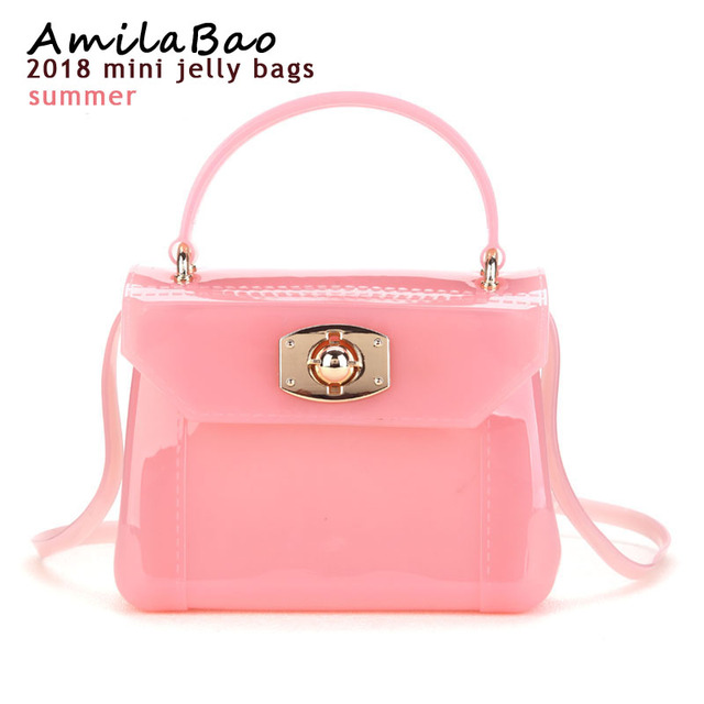 d3b49679ff73 Shoulder Women Messenger Bag Furly Candy Handbag Jelly Handbag Mini Bag
