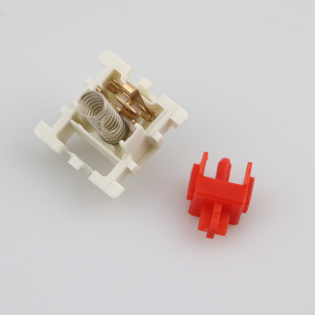 Gateron SMD Switches black red brown blue clear green yellow 3pins Gateron Switch for Mechanical Keyboard fit GK61GK64 GH60 dz60