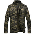 Top Quality Cotton Mens Outdoors Casual Military Style Cargo Jacket Men M65 Special Forces Camouflage Tactical Jackets And Coats
