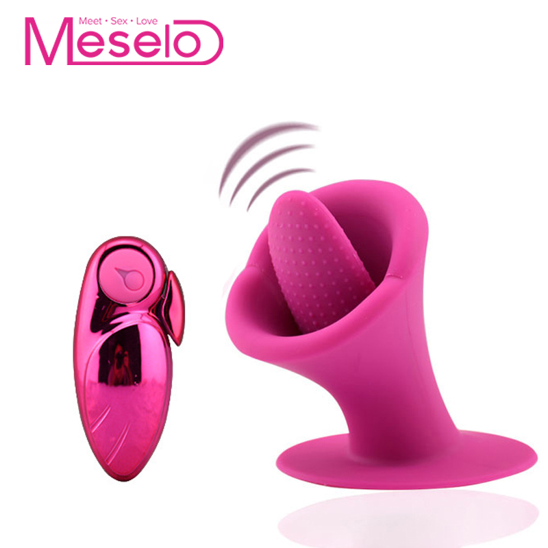 Tongue vibrator for women