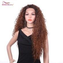 22inch странный вьющиеся волосы парик длинный синтетический парик фронта шнурка OT30  OT99J волосы
