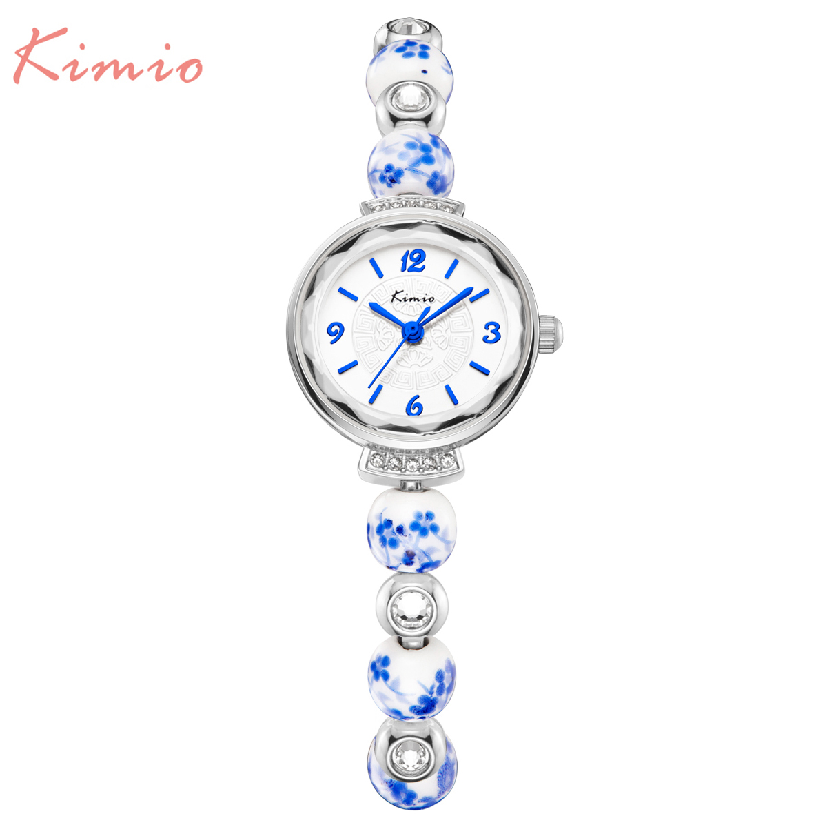 New Fashion Kimio Chinese style luxury watches Women quartz Dress bracelet watch waterproof ceramics ladies wristwatch with box kimio new fashion leather strap women quartz casual bracelet watch clock female ladies girl dress wristwatch relogio and box