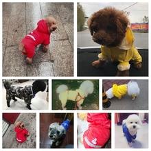 Dog Raincoat Puppy Rain Coat with Hood Reflective Waterproof Dog Clothes Soft Breathable Pet Cat Small Dog Rainwear XS – 2XL