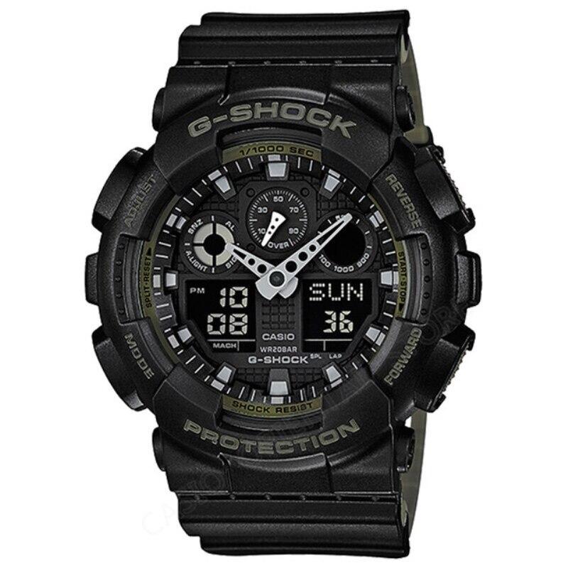 CASIO G-SHOCK WATCH 200m Waterproof Diving Mens Watches Fashion Clock Quartz Watch Male Relogio Masculino Mechanical GA-100L-1A casio ga 100l 8a