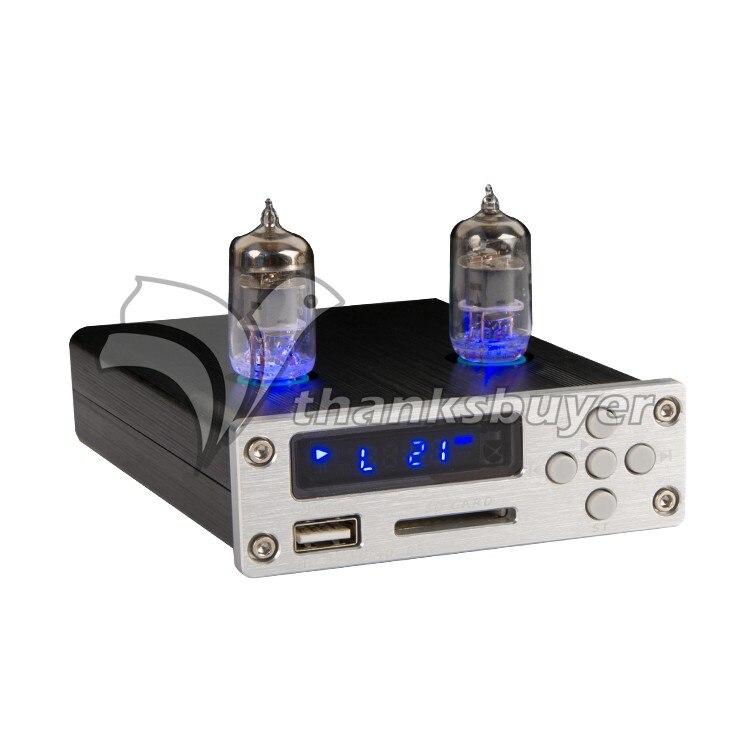 ZL D5 HIFI Sans Perte Musique Décodeur 6J1 Tube Lecteur Amplificateur Préamplificateur Audio