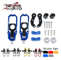 Motorcycle Rear Chain Adjusters Tensioner w/ Spool For 2007 2008 2009 2010 2011 2012 2013 2014 2015 Honda CBR 1000 RR 1000RR