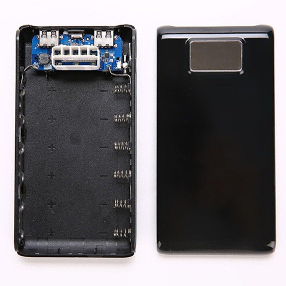 C9 Бесплатная Сварка внешний аккумулятор корпус ЖК-экран цифровой дисплей зарядное устройство Модуль DIY наборы питание от 6x18650 батарея