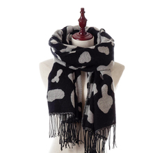 Classic Women Scarves Cashmere Long Section Thick Tassel Scarf Shawl Spot Style Men's Scarf Dual-use Warm Neckerchief Lady wrap