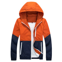 Wind break Autumn Men's Hooded Casual Jacket