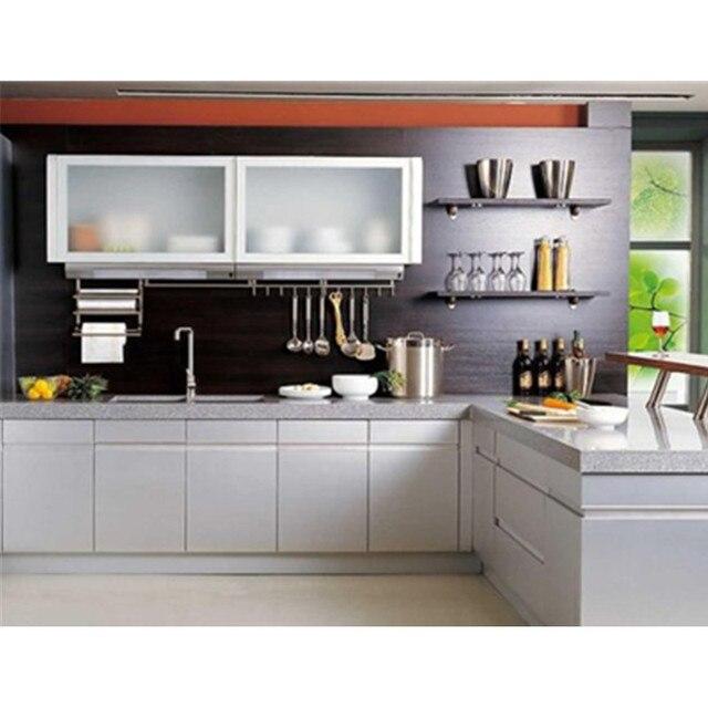 U Bentuk Modern Kitchen Kabinet