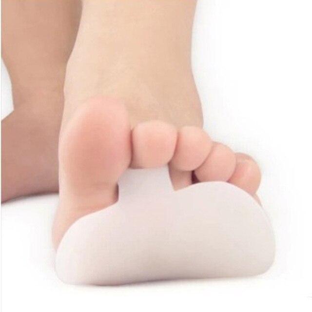 1 par de Gel de silicona metatarso almohadillas para zapatos dolor Bola de cuidado de los pies herramienta de pies dolor plantillas de zapatos pastillas cojín en la parte delantera soporte de arco