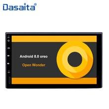 7 «HD цифровой сенсорный экран 2 din Android 8,0 автомобиль радио с Octa Core 4 Гб оперативная память 32 Встроенная 1080 P видео для Nissan Универсальный
