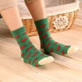 Winter Women Rabbit Wool Socks Lovely Fruit Watermelon Banana Pineapple Sock Thick Warm Middle Socks 2016 Hot Women's Clothing