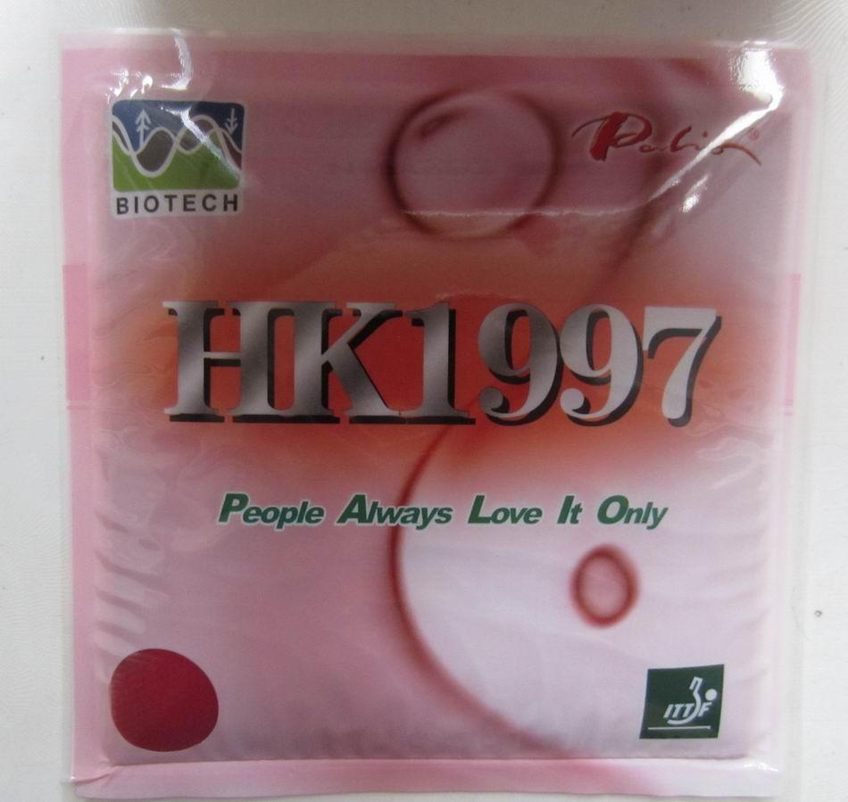 Alkuperäinen Palio HK1997 -pöytätennis kumipisarat molemmilla puolella silmukka pöytätennismaila maila urheilu biotekniikka pingpongikumi