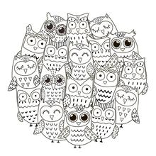 AZSG Cute big eyes owl Clear Stamps For DIY Scrapbooking Decorative Card making Craft Fun Decoration Supplies 13x13cm