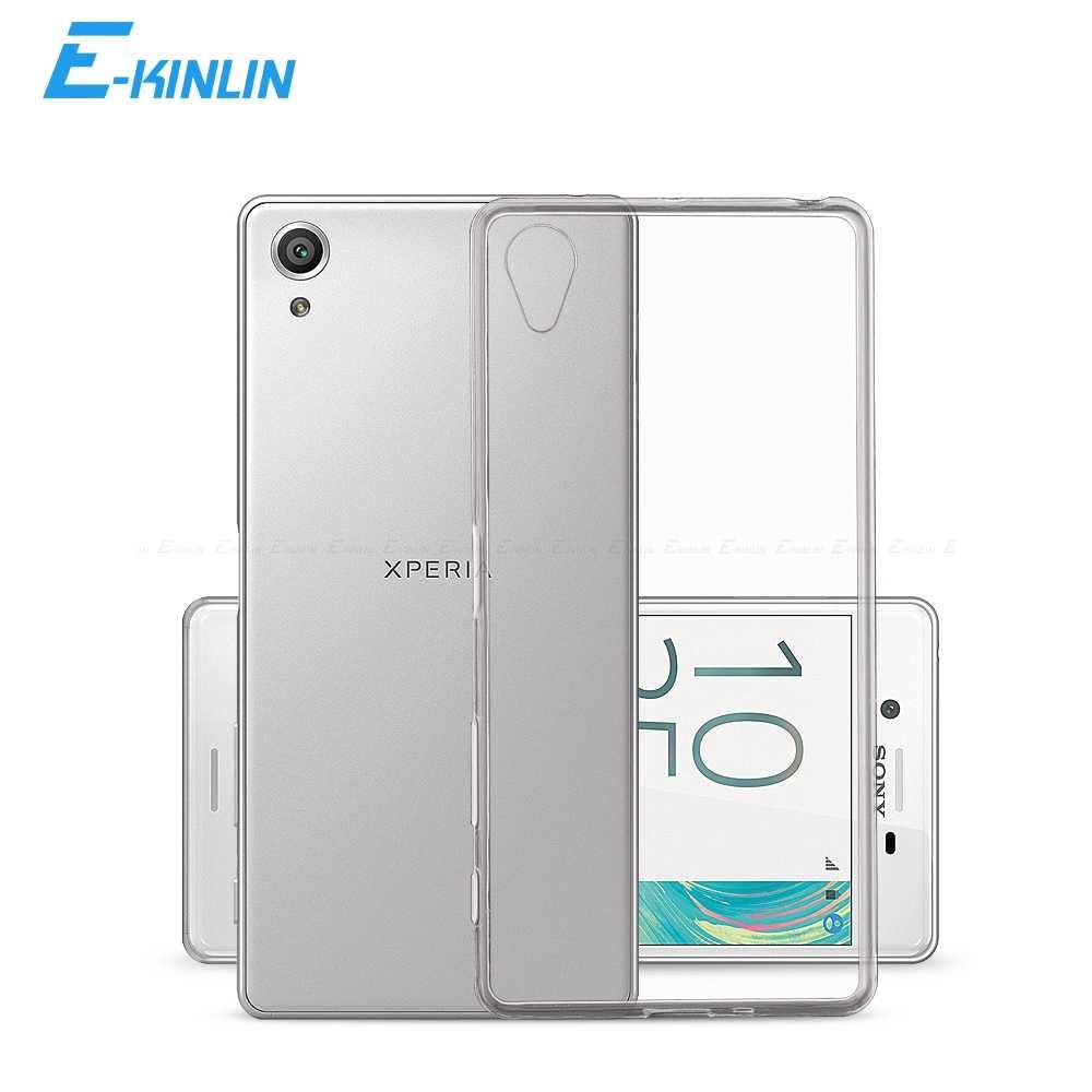 Прозрачный чехол для телефона из мягкого силикона ТПУ с рисунком чехол КРЫШКА ДЛЯ sony Xperia 1 5 10 XZ3 XZ2 XZS X XA XA1 XA2 Plus Ultra L1 L2 L3 Z3 Z4 Z5 XZ1 компактный XZ