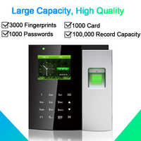 Eseye Biometric Fingerprint Time Attendance System USB Punch Card Time Clock Access Control Office Employee Time Machine Reader