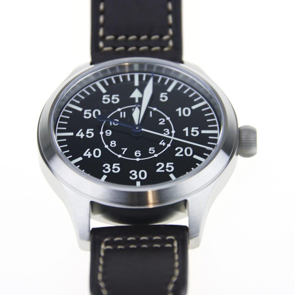 Mens FOD High Beat Pilot Diver Watch 300m Enamel Dial Flieger B-uhr TypeA/BMens FOD High Beat Pilot Diver Watch 300m Enamel Dial Flieger B-uhr TypeA/B