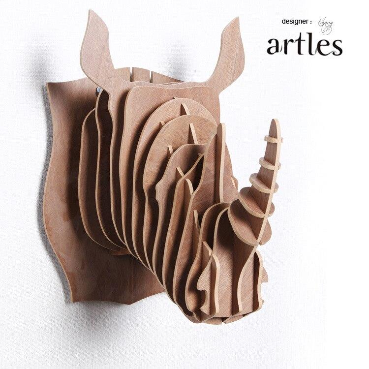 online kopen wholesale hout dier hoofd uit china hout dier
