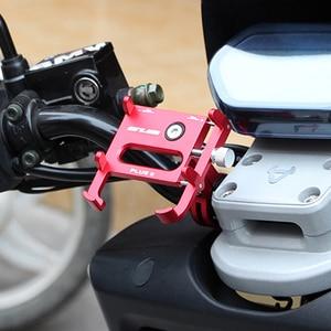 """Image 4 - GUB Plus 9 Bike Fahrrad Griff Telefon Halterung Unterstützung Fall Motorrad Lenker Für 3,5 6.2 """"Handy 360 grad rotation"""
