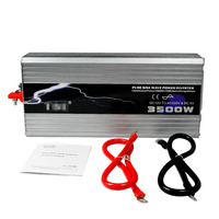 Profession Manufacturer Car Power Inverter 5000W 4000W 3500W Pure Sine Wave DC 12V To AC 220V Off Gird Solar/Wind Power Inverter
