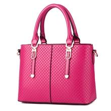 Decorativo cinto Mulher Pure Color Bolsa. frete grátis 2017 new pu trançado forma bolsa de ombro de negócios. tamanho 30*21*13 cm