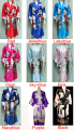 Free Shipping Women's Kimono Robe/Gown Geisha Robe Bathrobe Sleepwear With Belt