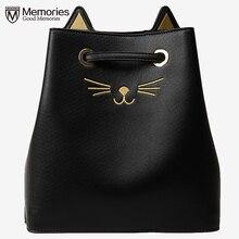 Frauen Handtaschen Frauen Nette Katze Handtasche Bolsa Feminina Damen Messenger Hochwertigen Kordelzugbeutel Kupplung Umhängetasche