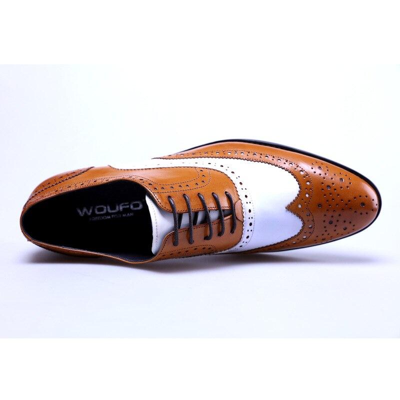«Sapatos oxfords masculinos de luxo, calçados clássicos