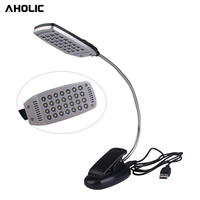 Fod Sports Hot Selling 28pcs LED Book Reading Lamp Light Flexable Night Light With Pad Clip