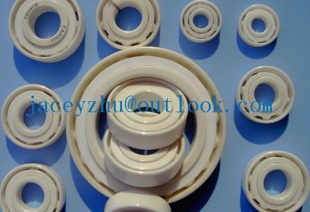 high quality 7003C full ZrO2 ceramic deep groove ball bearing 17x35x10mm