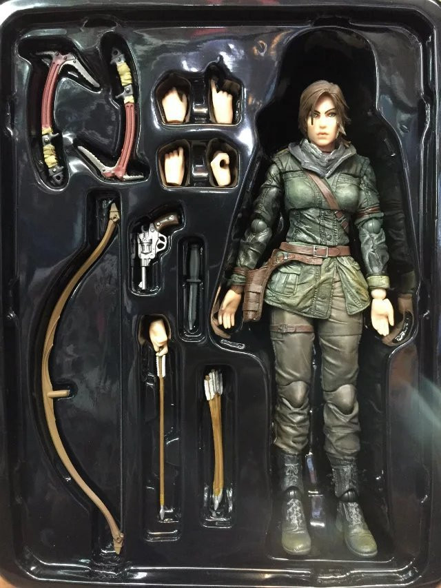 Aliexpress.com : Buy 25CM Tomb Raider Lara Croft Enhanced Version ...