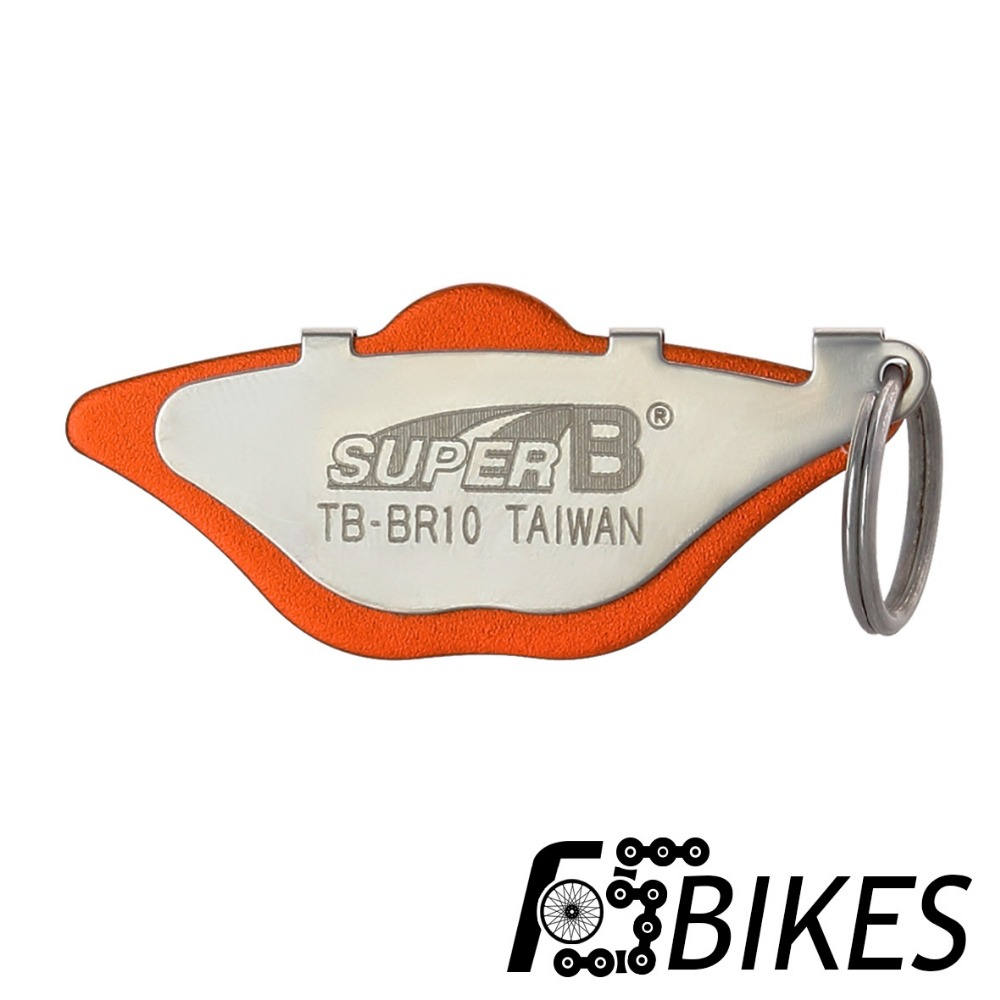 Super B TB-BR10 Brake Caliper Alignment Tool To Set A Gap For Tuning Disk Brake System Bike Bicycle Repair Tools For MTB