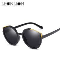 51e4d300eab LeonLion 2018 New Cat Eye Sunglasses Women Vintage Candy-colored Sun Glasses  UV400 Outdoor Driving