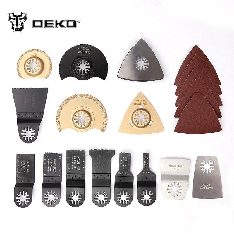 DEKO 38 Pcs Oscillating Tool Saw Blades for Renovator Power Tools as Multimaster Electric Multi-Tool DIY Power Tools Accessories