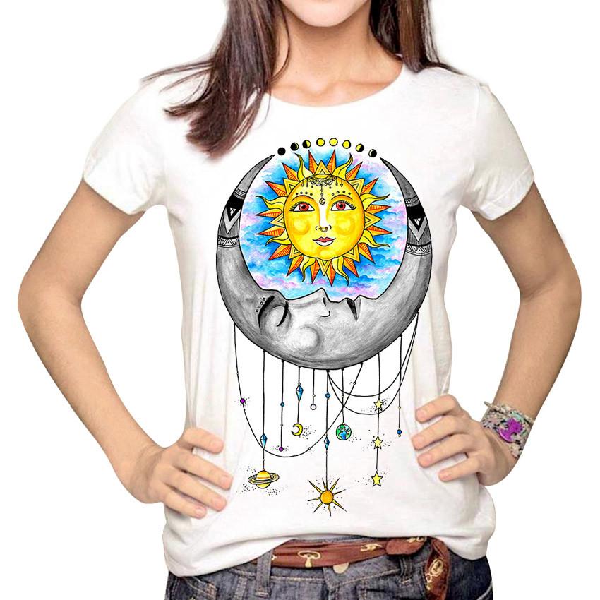 HTB1a4yqMVXXXXXUXXXXq6xXFXXXr - Women Fashion Hipster Sun and Moon Cartoon Printed Tops