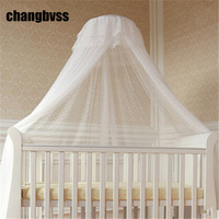 Children Room Decor Hung Dome Baby Crib Mosquito Net Princess Mosquito Nets For Baby Girls Infant